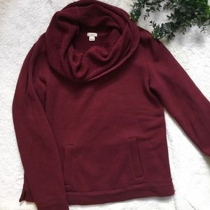 J Crew Factory Funnel Neck Sweatshirt